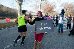 free high fives sign